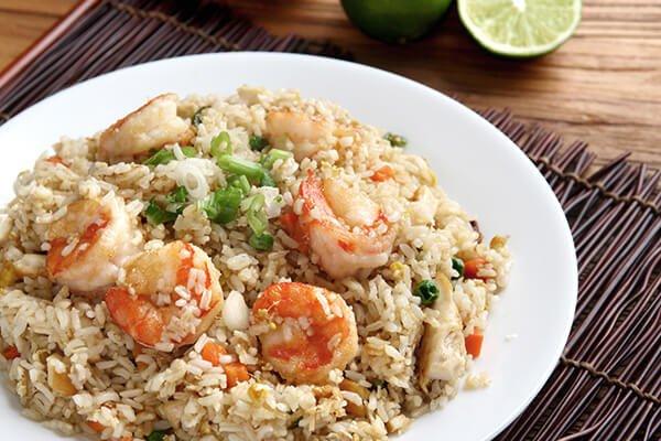 蔥花糙米蛋炒飯